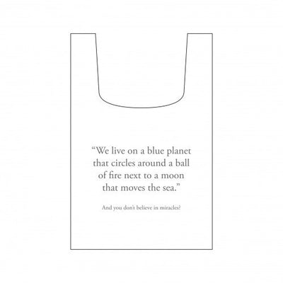 Save Planet A Reusable Shopping Bag 004