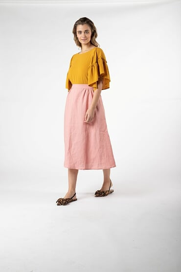 Sass Kindle Skirt in Sunset