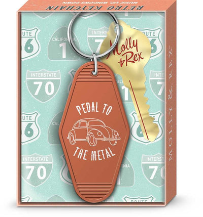 Molly & Rex - Pedal To The Metal - Keychain