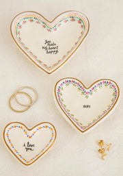 Stackable Trinket Dish S/3 Love You 172