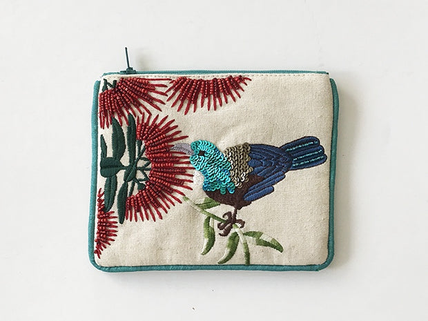 Caroline Mitchell Tui in a Garden Small Coin Purse