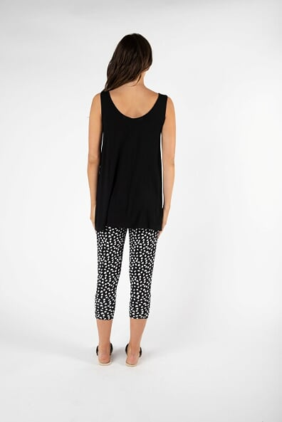 Betty Basics Zorita Tank in Black