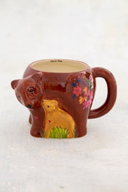 Natural Life Folk Mug Mama Bear 342