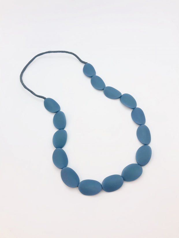 Some Big Twist Resin Bead Necklace 872