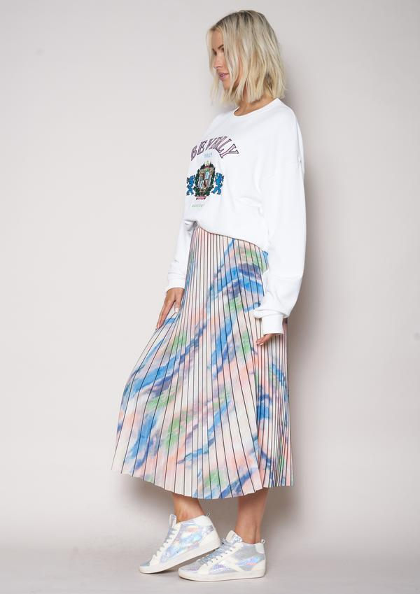 The Others Sunray Skirt in Aquarelle OTH-203