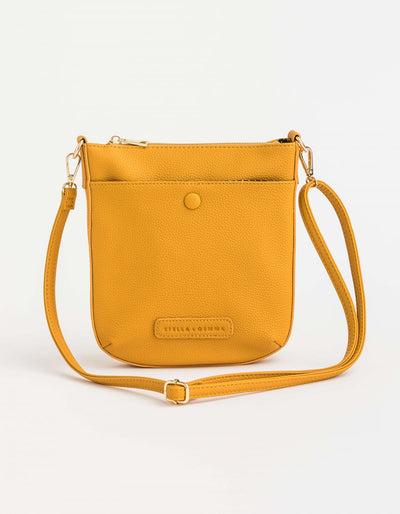 Stella and Gemma Wren Bag Mustard  1249