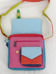Second Nature Multi Coloured Satchel ST25