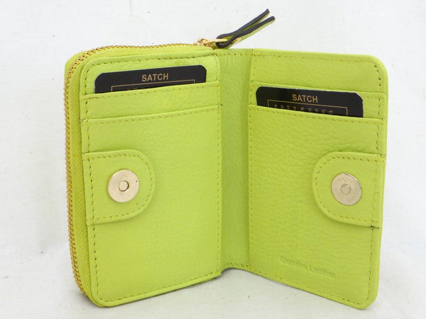 Satch Second Nature Sw73 Small Zip Card Wallet