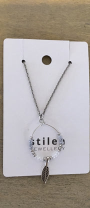 Stilen Boho Silver Necklace