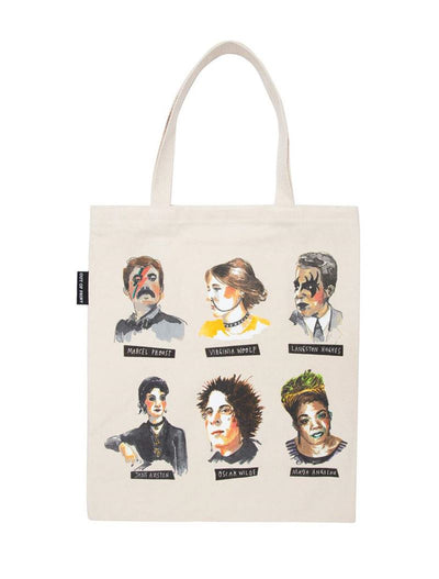 Out Of Print - Punk Rock Authors - Tote Bag