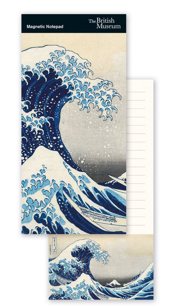 Museums & Galleries - The Great Wave - Magnetic To-Do Pad 318