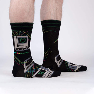 Sock it to Me Men's Crew Socks Control Alt Delete SM0461