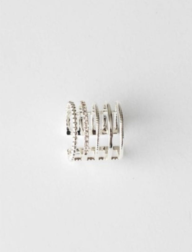 Stilen Bree Silver Coloured Ring