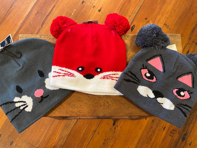 Head Start Kids Animal Beanie Hat 4233