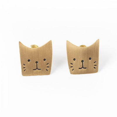 Trade Aid Cute Cat Earrings 09.01.490