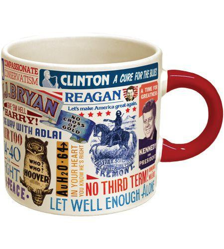 The Unemployed Philosophers Guild Presidential Campaign Slogans Mug