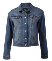 Vassalli Vintage Blue Distressed Denim Jacket 2017