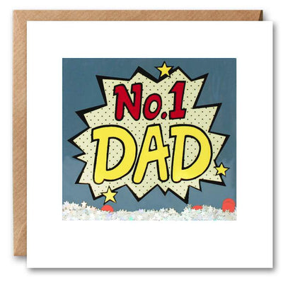 James Ellis - No. 1 Dad - Father's Day Shakies Card
