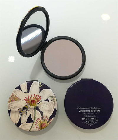 Wolfkamp & Stone - Clematis - Cosmetic Mirror