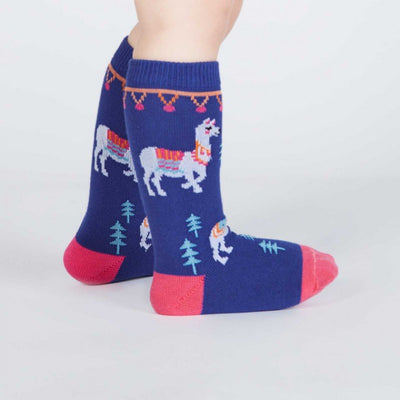 Sock it to Me Toddler Knee Socks - como te llamas? age 1-2
