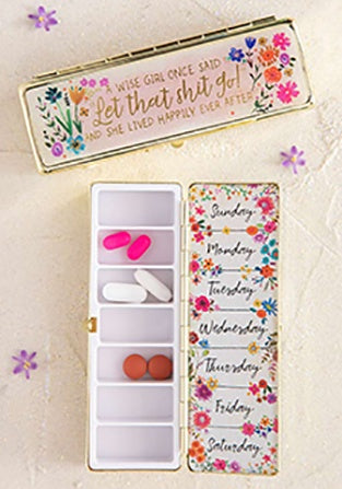 Daily Pill Box A Wise Girl 036