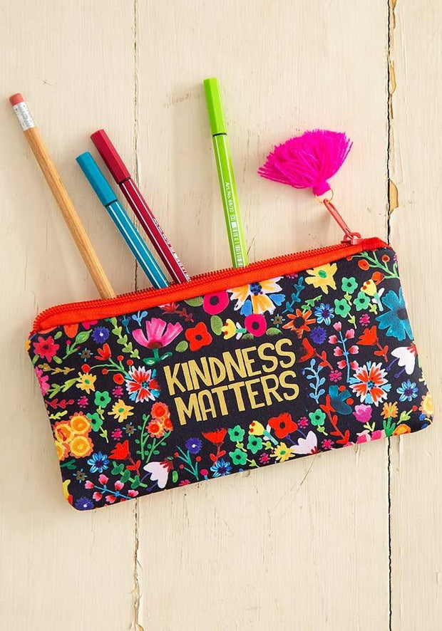 Natural Life Pencil Pouch Kindness Matters 346