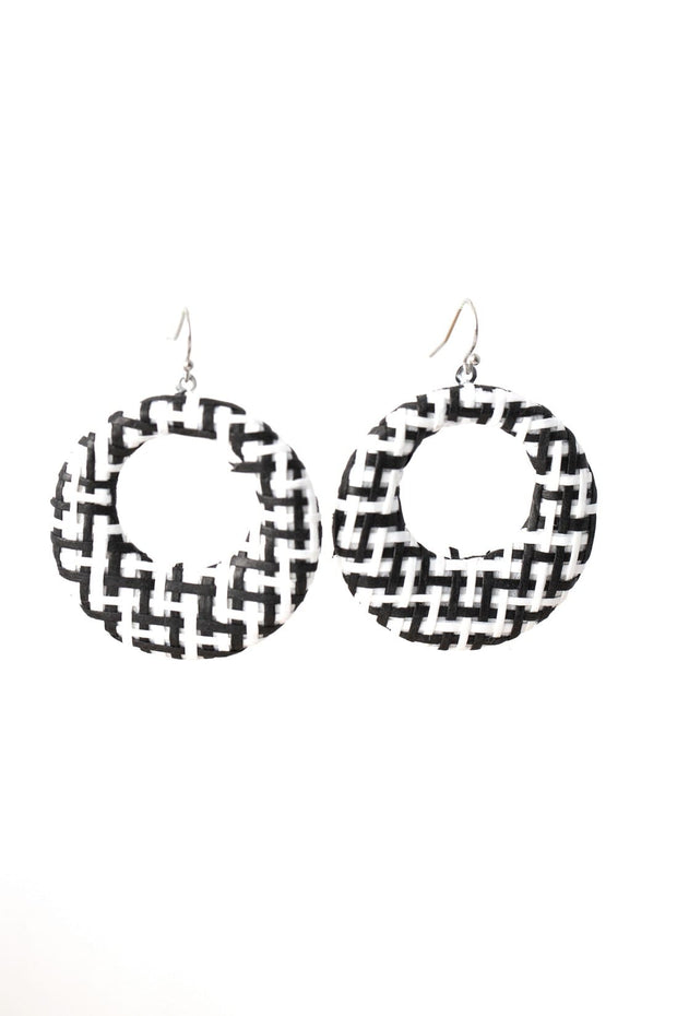 Stilen Luana Black Earrings