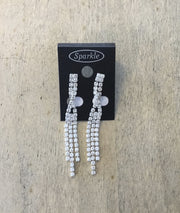 Some Crystal Twist Earrings 658