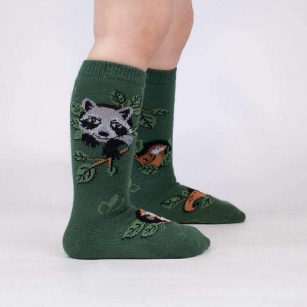 Sock it to Me Toddler Knee Socks Woodland Watchers Age 1-2