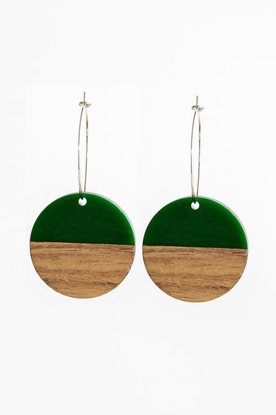Stilen Erin Forest Earrings