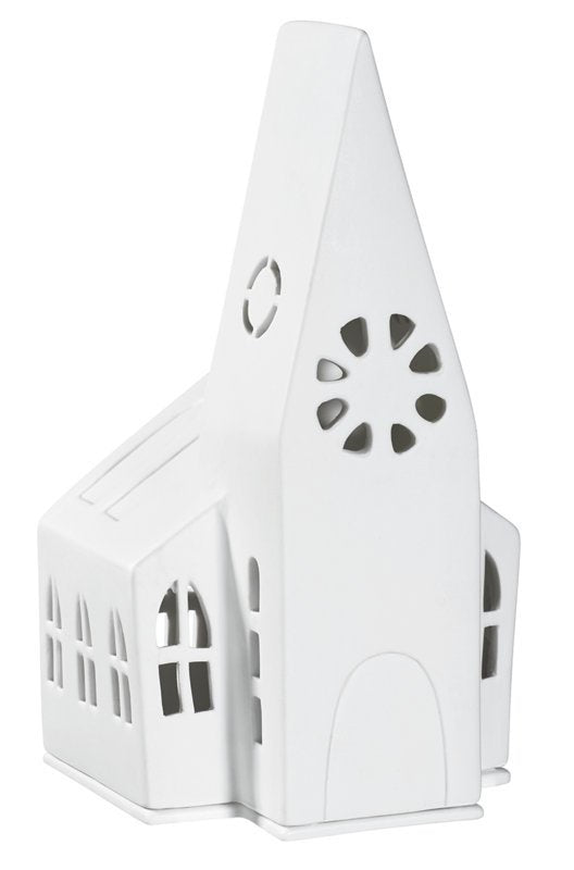 Räder - Large Church - Christmas Porcelain Tealight House