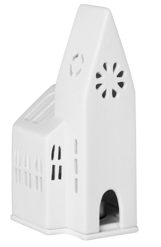 Räder - Small Church - Christmas Porcelain Tealight House