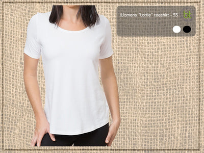 Bamboo Textiles Lottie Short Sleeve Tee