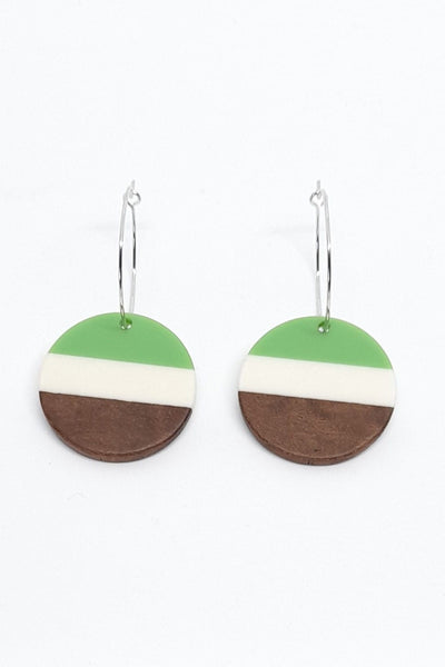 Stilen Lizzy Mint Earrings