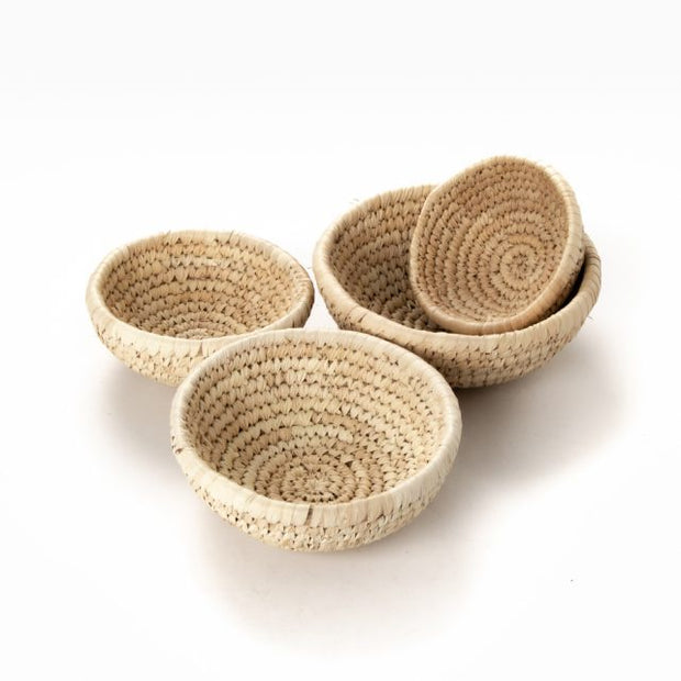 Trade Aid Date Palm Bowl/Basket Set of 4