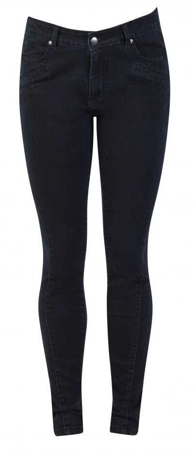 Vassalli Super Skinny Leg Jean, Lower Rise and Seam Detail 5901