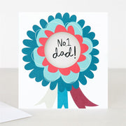 Caroline Gardner - No. 1 Dad - Father's Day Card