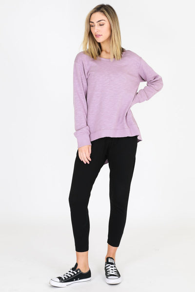 3rd Story Newhaven Sweater in Lilac