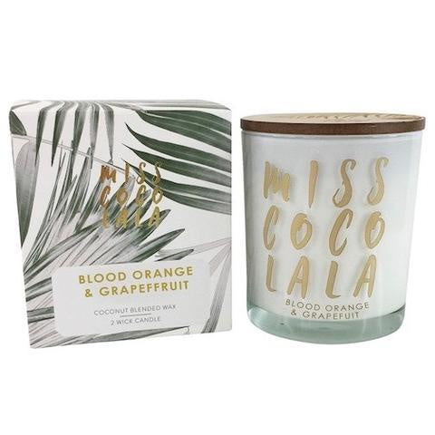 Miss Coco Lala 300g Wax Filled Jar Candle