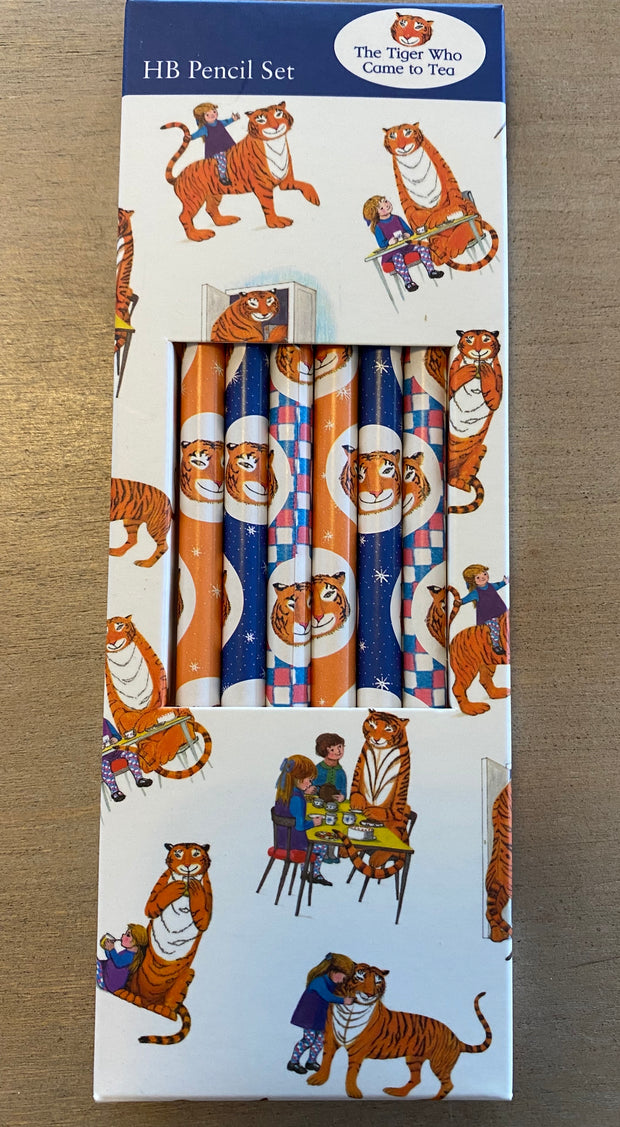 Museums and Galleries The Tiger Came to Tea Pencils