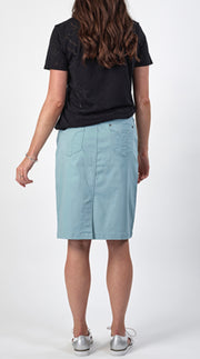 Vassalli Lightweight Skirt 5751LW in Seafoam