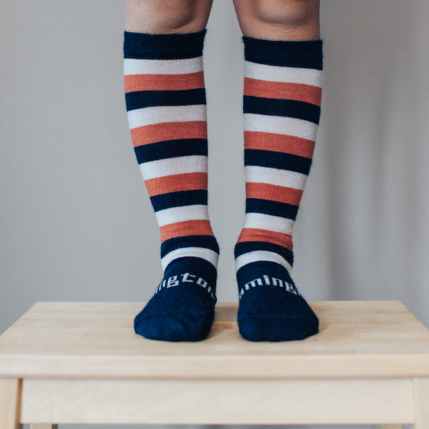 Lamington Merino Wool Knee High Socks Child Lane