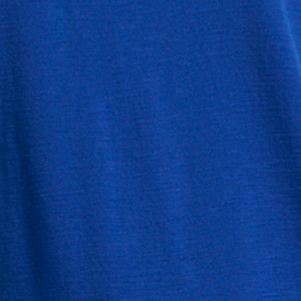 Foil Merino Round Neck Plain Tee in Classic Blue TP4173