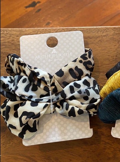 Archer House Animal Print Scrunchies 3 pack 03