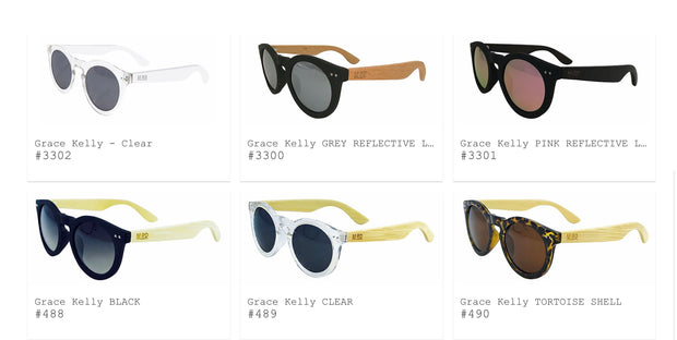Moana Road Sunglasses The Grace Kellys