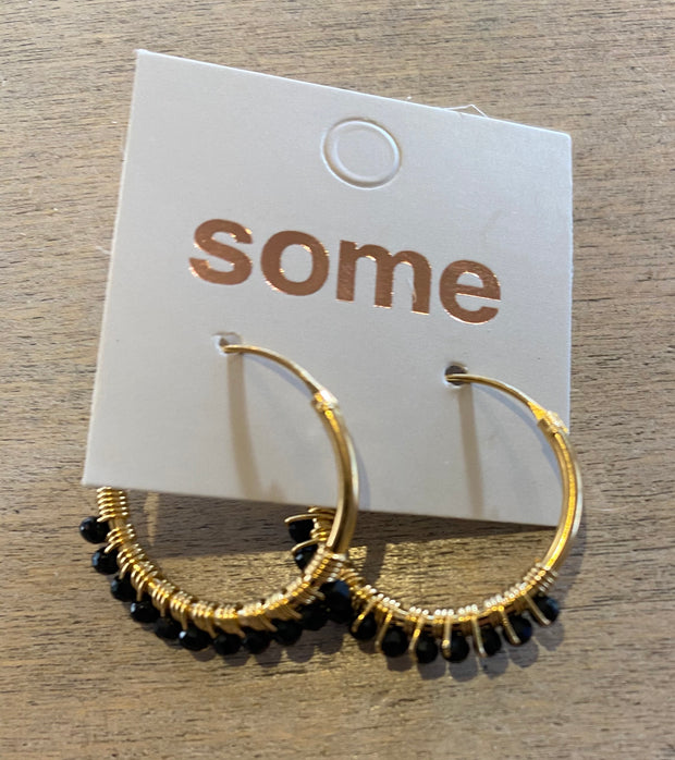 Some Sterling Silver Gold Plated and Onyx Earrings 100