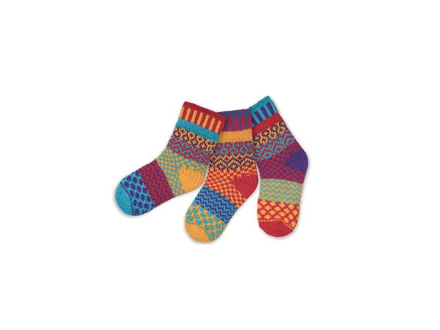 Solmate Firefly Socks set of 3 Age 9-11 Years