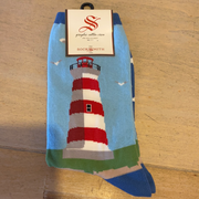 Socksmith Women's Socks Lighthouse Sky Blue 901