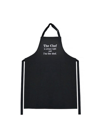 Karen Design The Chef is Always Right Apron