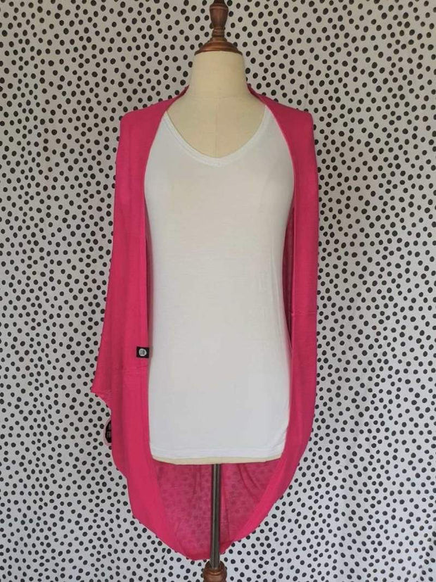 Hello Friday Flo Cardi in Fuschia 259